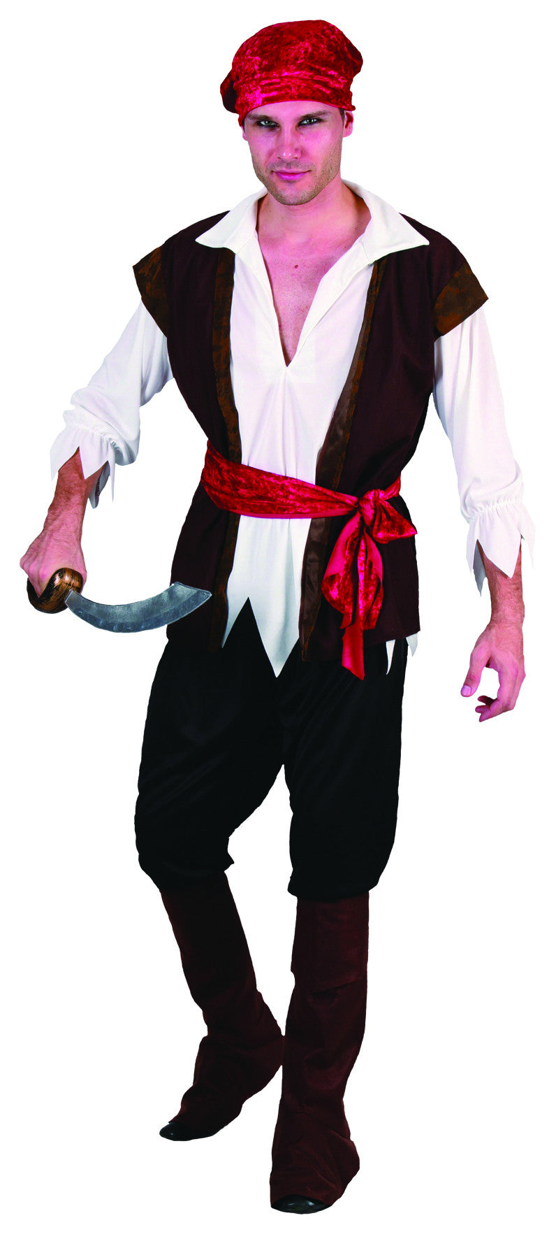 Pirate Man - Adult - Medium
