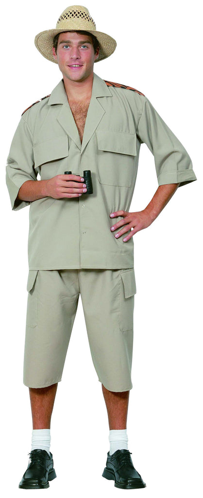 Safari Suit Costume, Adult - Size L