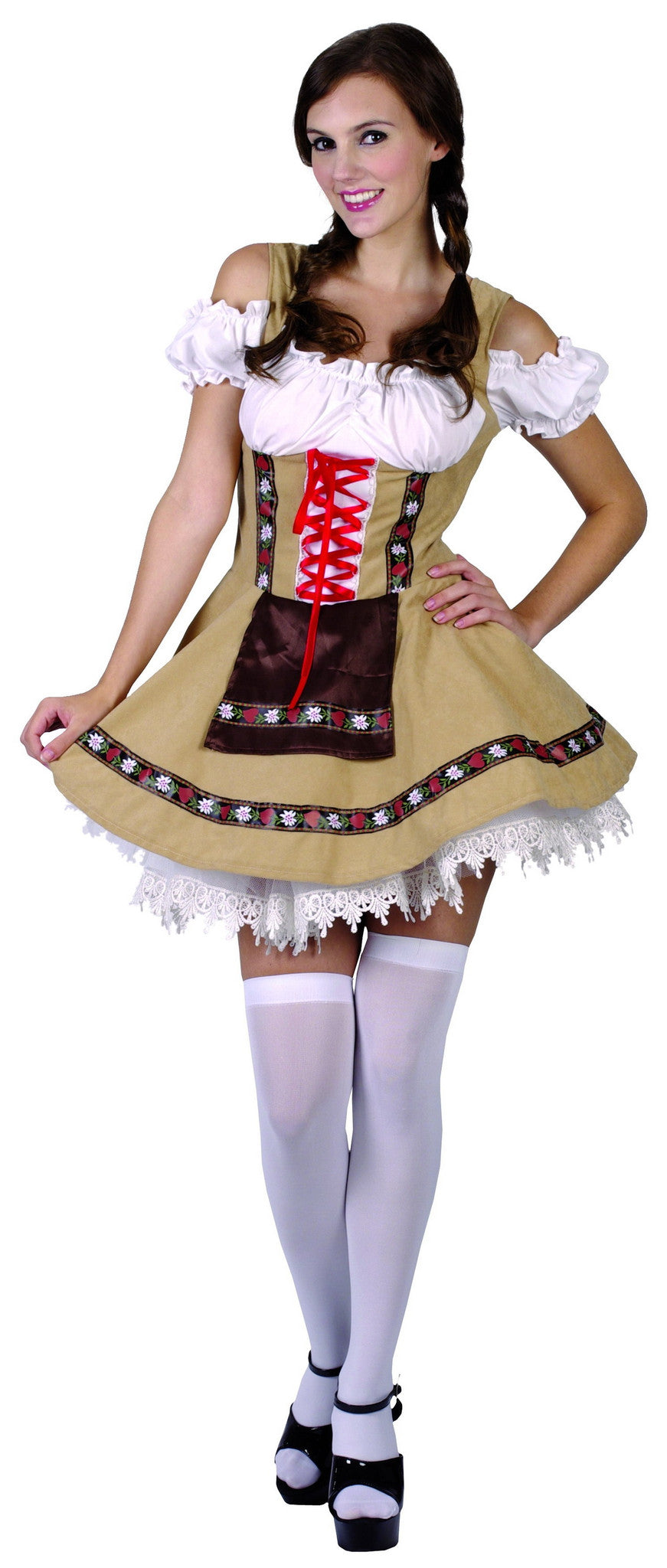 Alpine Beer Girl, Adult - Size Medium