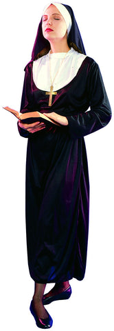 NUN COSTUME, ADULT - SIZE L