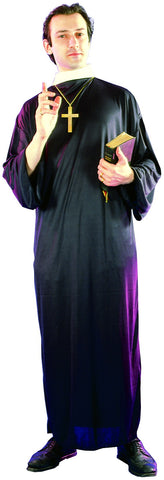DELUXE PRIEST COSTUME, ADULT - SIZE STD