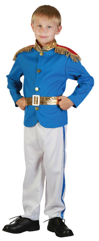 PRINCE CHARMING COSTUME, CHILD - SIZE M