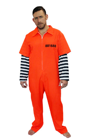 AMERICAN PRISONER COSTUME, ADULT - SIZE XL