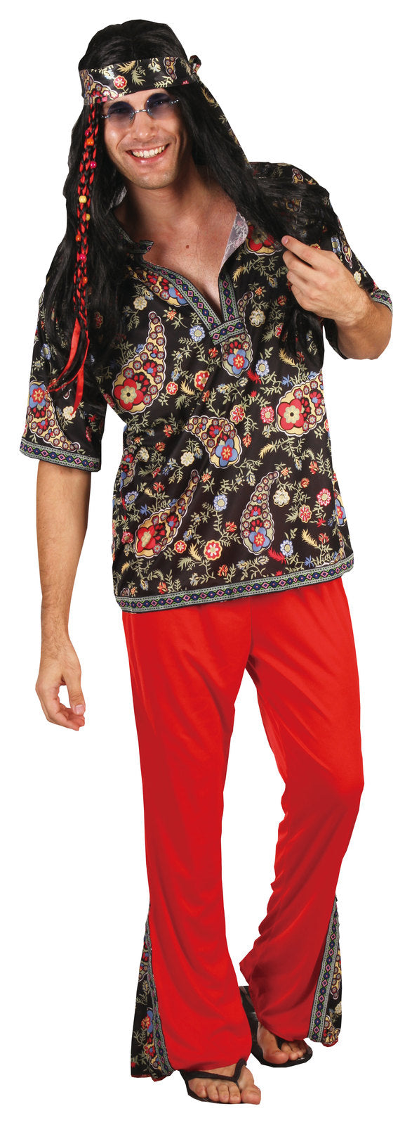 HIPPIE DUDE COSTUME, ADULT - SIZE S/M