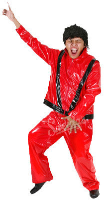MICHAEL JACKSON 80'S THRILLER COSTUME, ADULT