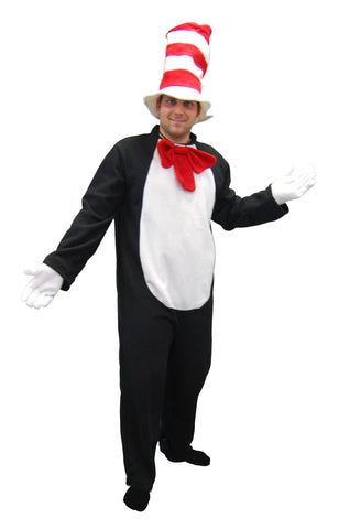 Adult Onesie - Cat with Hat