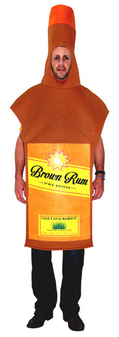 Rum Bottle Costume - Adult
