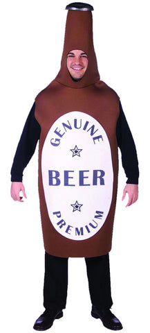 Beer Bottle Costume - Adult