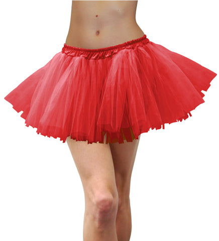 Adult Tulle Tutu - Red