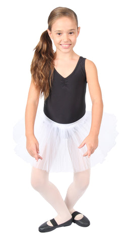 Child Tulle Tutu - White