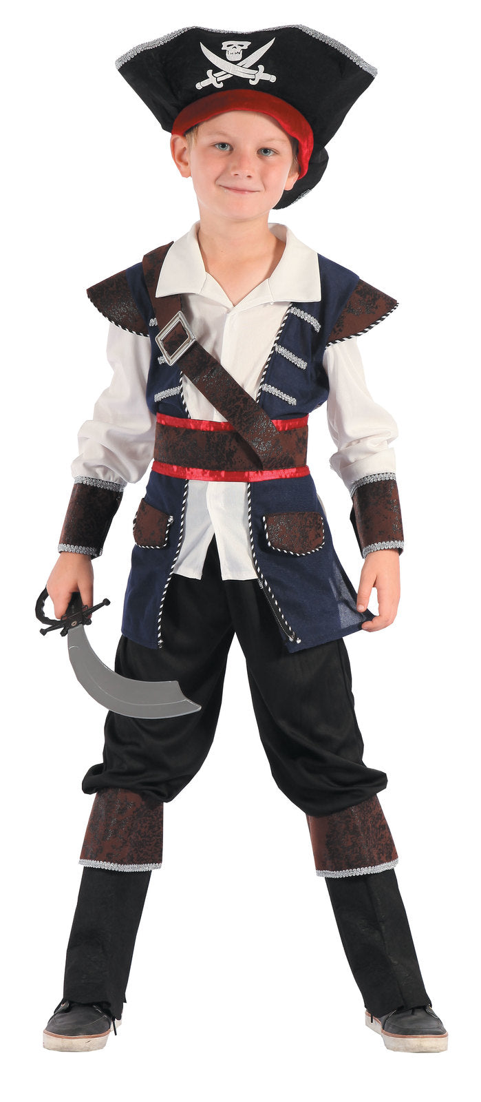 Pirate Boy Costume, Child - Size L