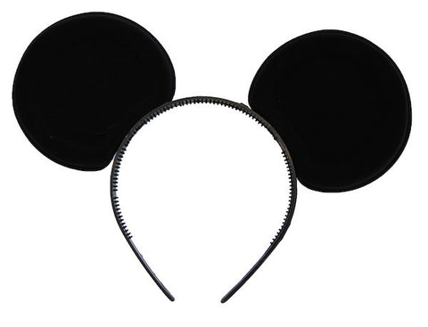 Mouse Ears - Black Plastic