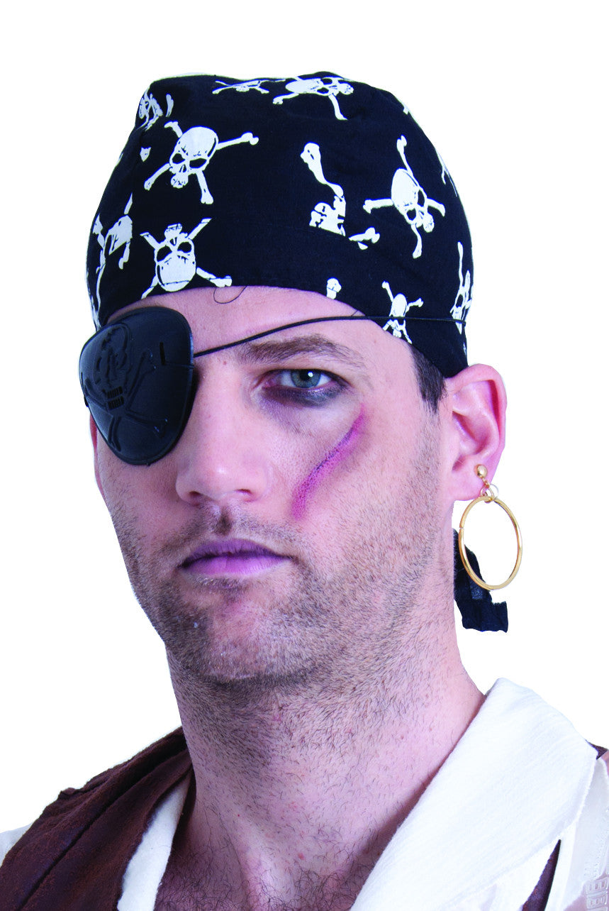 Plastic Eyepatch and Earring