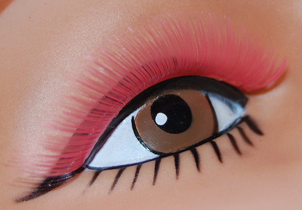 Sweep Lashes - Hot Pink