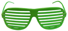 80s Slot Glasses - Fluoro Green