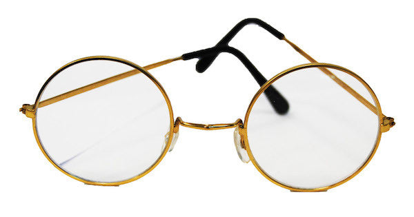 Lennon/Santa Round Glasses - Clear