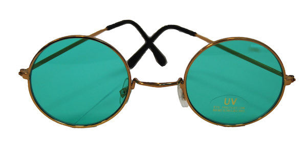 Lennon Glasses - Green Tint