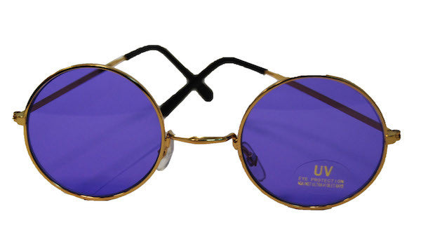 Lennon Glasses - Purple Tint