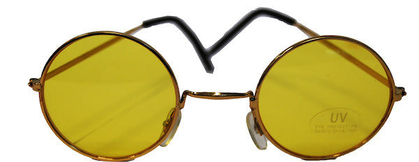Lennon Glasses - Yellow Tint