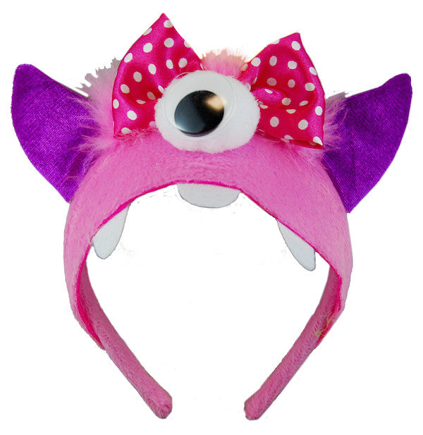 Monster Headband - Pink