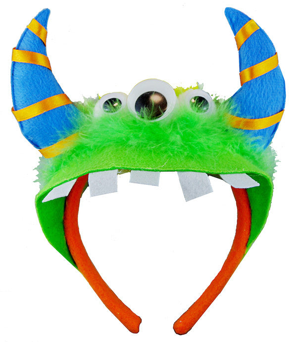 Monster Headband - Green