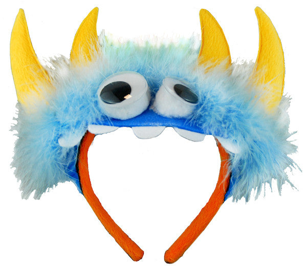 Monster Headband - Blue