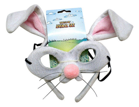 Animal Headband & Mask Set - Rabbit