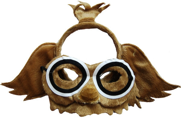 Animal Headband & Mask Set - Owl