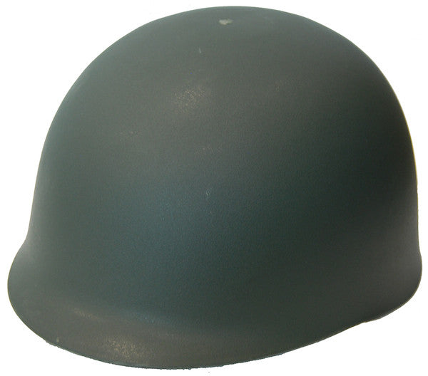 CLASSIC GREEN ARMY HELMET, ADULT SIZE