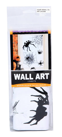 Halloween Wall Decals - Spiders 2pk