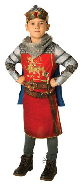 KING ARTHUR COSTUME, CHILD