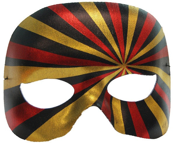 Crazy Mask Black/Red/Gold