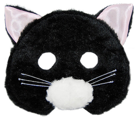 Plush Animal Mask - Cat