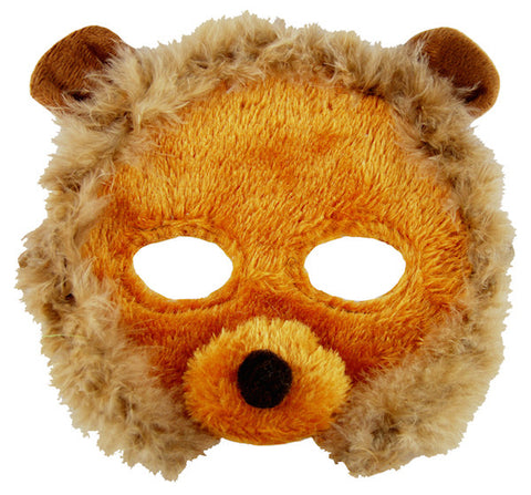 Plush Animal Mask - Lion