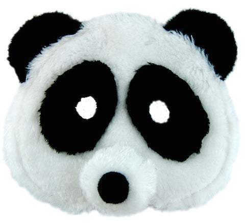 Plush Animal Mask - Panda