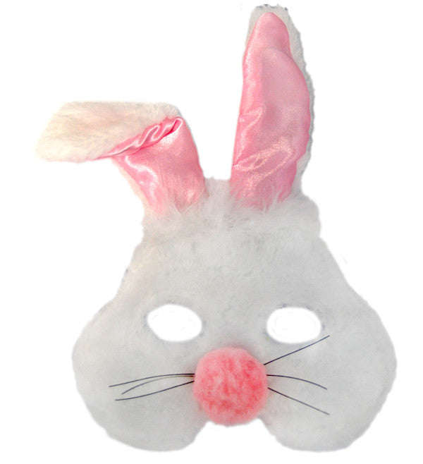 Plush Animal Mask - Rabbit