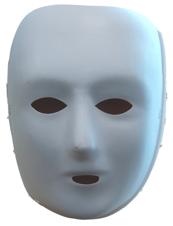 Design Mask - White P.V.C.