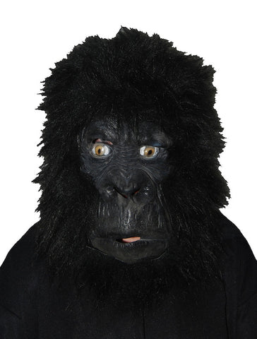 Gorilla Face - Closed Mouth/Hairy