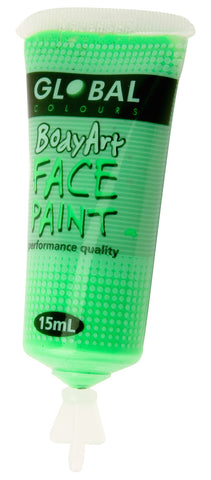 Body Art 15ml Tube - FLUORO GREEN