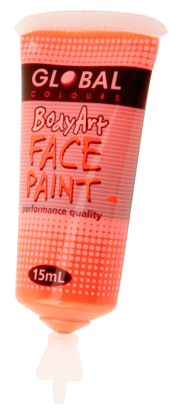 Body Art 15ml Tube - FLUORO ORANGE