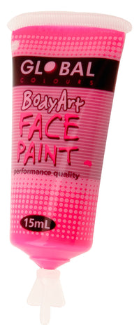 Body Art 15ml Tube - FLUORO PINK