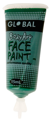 Body Art 15ml Tube - DEEP GREEN