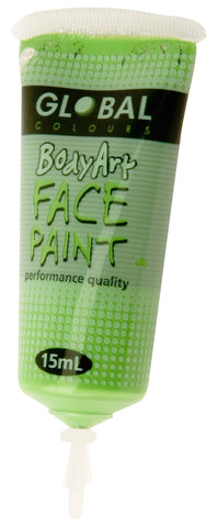 Body Art 15ml Tube - LIGHT GREEN
