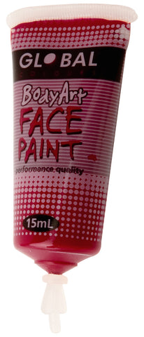 Body Art 15ml Tube - MAROON