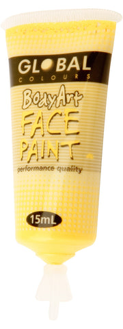 Body Art 15ml Tube - YELLOW