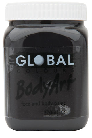 Body Art 200ml Jar - BLACK