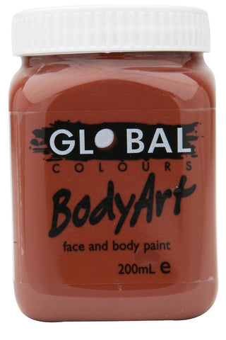 Body Art 200ml Jar - BROWN