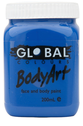 Body Art 200ml Jar - DEEP BLUE