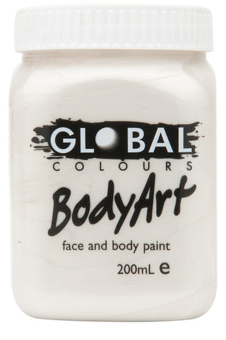 Body Art 200ml Jar - METALLIC PEARL
