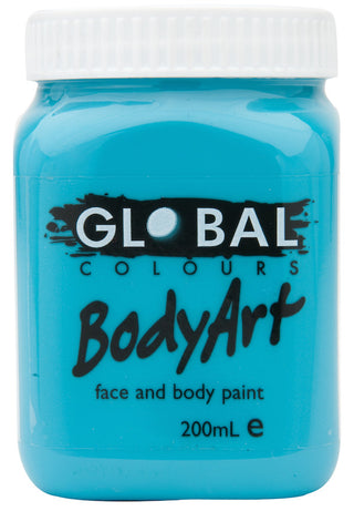 Body Art 200ml Jar - TURQUOISE